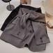 2色/ウエスト巻シャツ風スカート ・16931