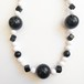 black & white necklace[n-209]