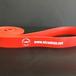 Training band (tube) red トレーニングバンド 赤(幅サイズ 2.8 ㎝)
