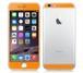 iPhone6、iPhone6Plus用 両面カスタムデザイン液晶フィルムシール(オレンジ)