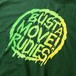 RUDIE'S / ルーディーズ | BUST A MOVE T-SHIRTS / Green