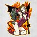 BASS DEVIL GIRL Sticker