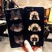 キャット & ドッグ 3連 犬 ネコ iPhone シェルカバー ケース アニマル ★ iPhone 6 / 6s / 6Plus / 6sPlus / 7 / 7Plus  / 8 / 8Plus ★ [NW483]