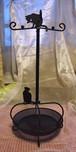 黒猫アクセサリースタンド 123-8