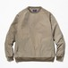meanwhile Nylon Popper Shirt Olive