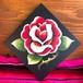 Rose チョークアート ウォールアート 壁掛け