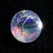 天然ウォーターオパール0.82ct エチオピア産 7色の遊色がとてもキレイ!