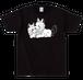 なかよしな犬Tシャツ