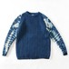 MODESTRY INDUTRY INDIGO DYE CABLE KNIT