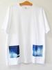 藍染め半袖  XL  綿Tシャツ メンズ ユニセックス (AT-50)