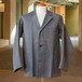 50's BLACK CHAMBRAY TAILORED JACKET DEAD STOCK