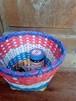 タイ文字入り リサイクルプラスチック籠