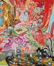 "Rina MIZUNO  ""Room with red fabric"""