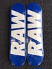 RAW THE RAW LOGO SKATEBOARD