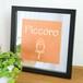 ロゴ パブミラー 正方形L 22cm角 鏡 ショップロゴ・企業ロゴ印刷 ミニ看板・記念フレームに