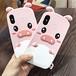 韓国風 iphoneX人気カバー original 可愛い ピッグ ユニーク オリジナル アイフォン8/7プラスケース 芸能人愛用 iphone6plusソフトカバー