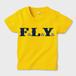 F.L.Y. Kids T-Shirt (YEL×NVY)