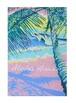 Aloha Hawaii ポストカード 絵画:パステル(Pastel)