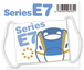 ガーゼマスク E7系 かがやき