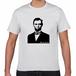 エイブラハム・リンカーン アメリカ合衆国 第16代大統領 歴史人物Tシャツ057