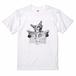 Fox News paper  Tee T-shirt キツネと新聞 Tシャツ