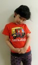 バングラデシュ 子供Tシャツ 5A 花の車(男女兼用)