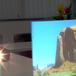 ホワイトスクリーン(両面投映可)「パルミル W」  A4サイズ