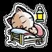 <ステッカーXL>おやすみーちゃん