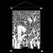 【描き下ろし商品】血玉樹園-富江- タペストリー(両面プリント)