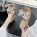 【shoes】サンダルリボン付きスウィート厚底ファッション合わせやすい3色