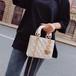ハートチャーム チェーン 光沢 エレガント ハンドバッグ かばん 鞄 ショルダーバッグ バッグ 大人 大人女子 オフィス 人気 パーティ お呼ばれ