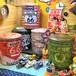 【13-0070】-【74】 座れる収納 アメリカン ペール缶スツール