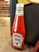 Heinz ハインツ トマトケチャップ エンボス加工 メタルサイン