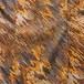 M~XLサイズ【アメリカ製古着】1970年代ヴィンテージ◆茶とオレンジの流線レトロモダンプリント◆パンツスーツ