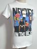 1990's NEW KIDS ON THE BLOCK Tシャツ 白 表記(S) ニューキッズオンザブロック