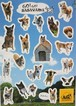 オリジナルシール【篠山の犬】 ARK Original Sticker[Sasayama dog]