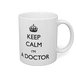 【名入れ可】KEEP CALM I'M A DOCTOR マグカップ