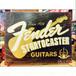 アメリカンレトロ ブリキ看板 フェンダー/Fender 60周年