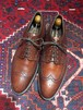 .TRADING POST LEATHER WING TIP SHOES MADE IN JAPAN/トレーディングポストレザーウィングチップシューズ 2000000032283