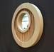 壁掛けミラー(フレーム材質:カバ)