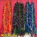 3本三つ編みヘアゴム