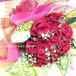 【午前中までのご注文で【即日発送可能】【送料無料】 【成人の日】【誕生日】 20本のバラの花束(生花)・ブーケタイプ FL-SE-05