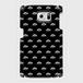 (通販限定)【送料無料】Galaxy S6(SC-05G)_スマホケース モノグラム_ブラック