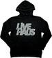 "LIVE HAUS  ""2020 Winter"" Logo Hoodie   BLACK x 蓄光インク"