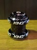 """[中古パーツ] CHRIS KING (クリスキング) NoThreadSet 1-1/8"""" ブラック"""