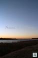 沼と夕日~Swamp and sunset~②