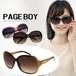 サングラス py2558 ビックフレーム ページボーイ UVカット 紫外線対策 サングラス  レディース 人気 おすすめ 女性用 デカサングラス PAGE BOY