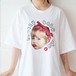 ホワイト Tシャツ(Pretty baby chu) 【ゆりにゃ select】