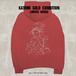 Cross & Stitch 10oz Pullover hoodie(S,M,L,XL)/ Red