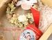 母の日ギフト プリザミニリース&カレルチャペック紅茶